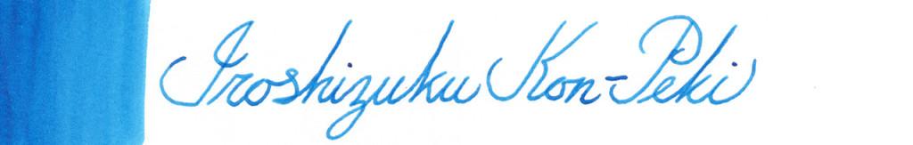 Iroshizuku Kon-Peki