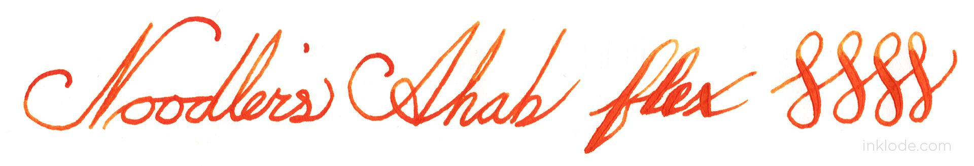 Noodler's Ahab Flex