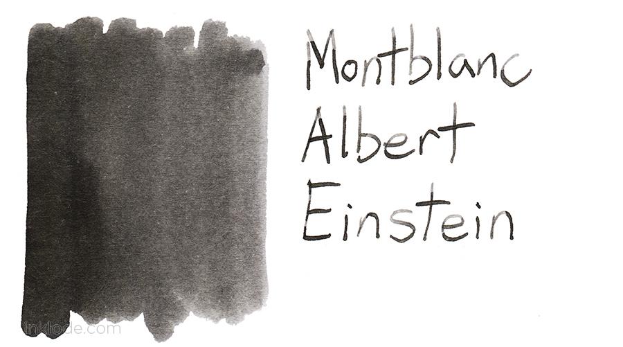 Montblanc Albert Einstein