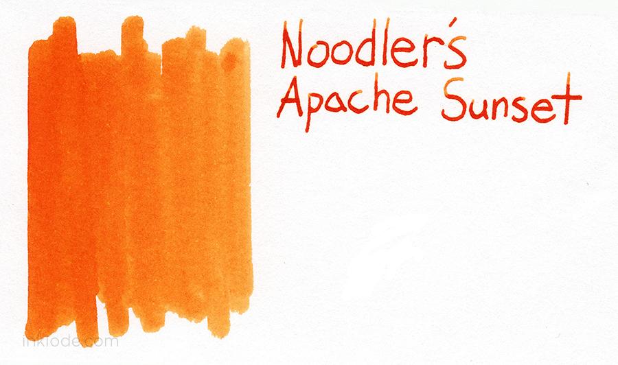 Noodler's Apache Sunset