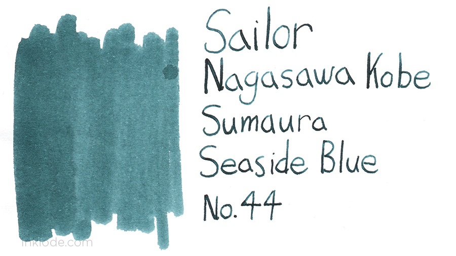 Sailor Kobe Sumaura Seaside Blue No. 44