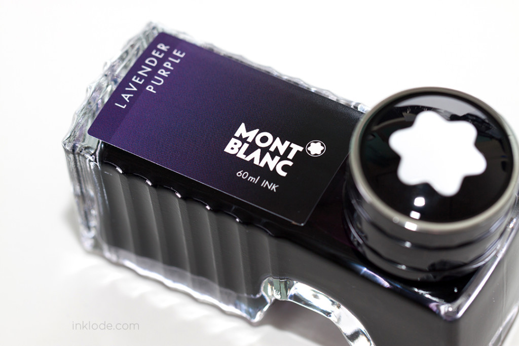 Montblanc Lavender Purple bottle