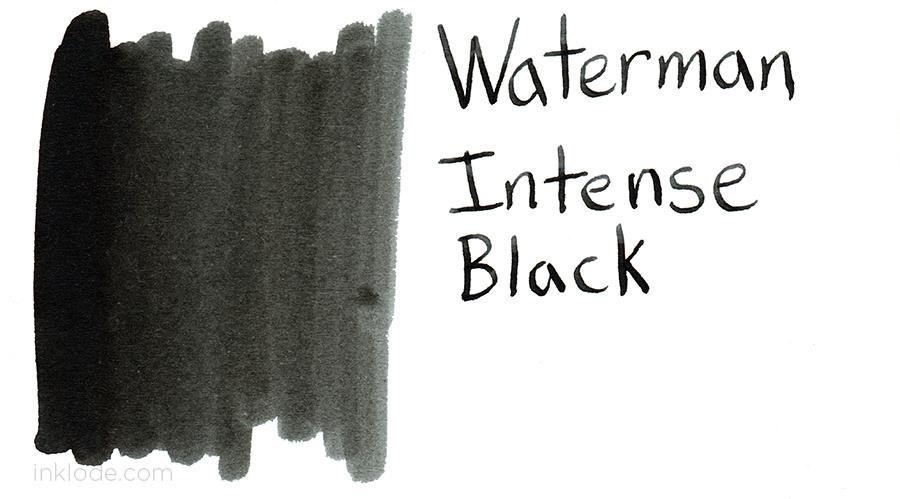 Waterman Intense Black