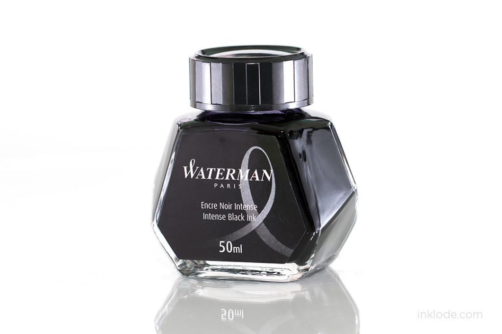 Waterman Intense Black bottle
