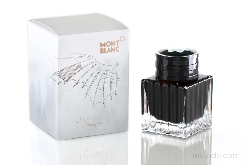 Montblanc Leonardo Red Chalk bottle