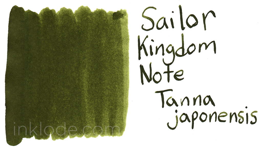 Sailor Kingdom Note Tanna Japonensis