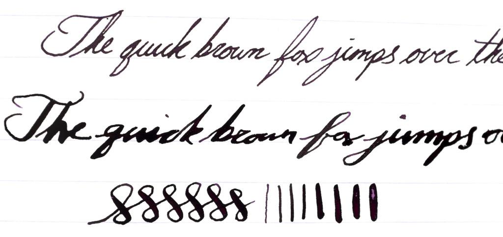 Stipula Splash writing sample
