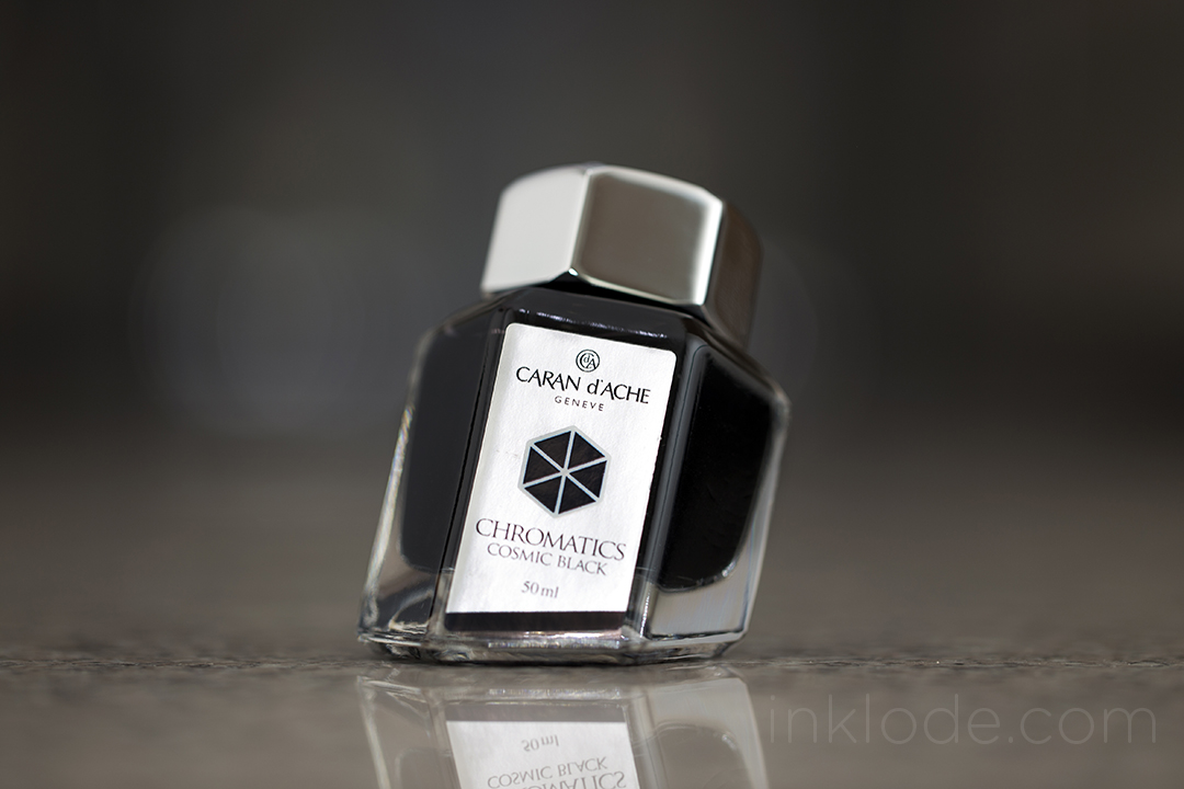 Caran d'Ache Cosmic Black bottle