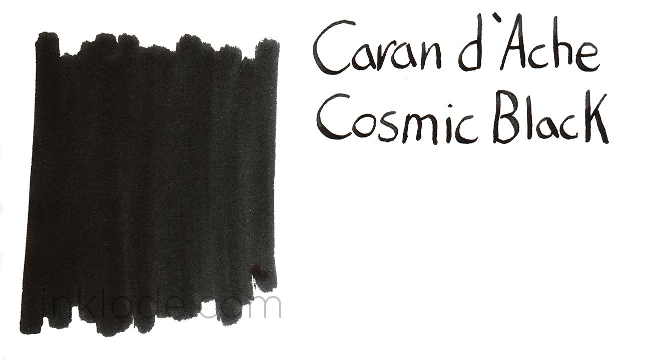 Caran d'Ache Cosmic Black swab